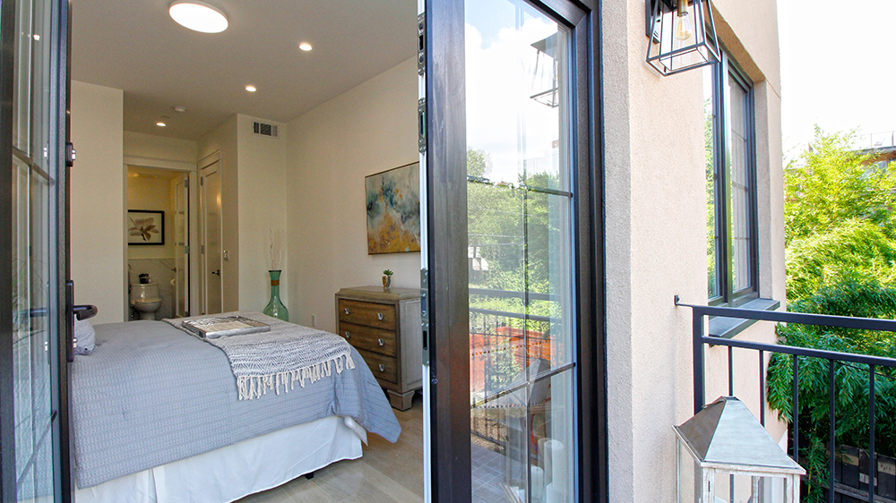 Carroll Gardens apartments for sale 2A Master Bedroom